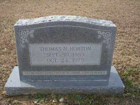 HORTON, THOMAS N - Columbia County, Arkansas | THOMAS N HORTON - Arkansas Gravestone Photos
