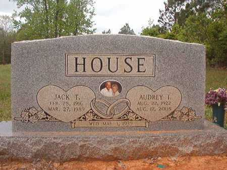 HOUSE, AUDREY I - Columbia County, Arkansas | AUDREY I HOUSE - Arkansas Gravestone Photos