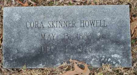 SKINNER HOWELL, CORA - Columbia County, Arkansas | CORA SKINNER HOWELL - Arkansas Gravestone Photos