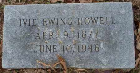 HOWELL, IVIE EWING - Columbia County, Arkansas | IVIE EWING HOWELL - Arkansas Gravestone Photos