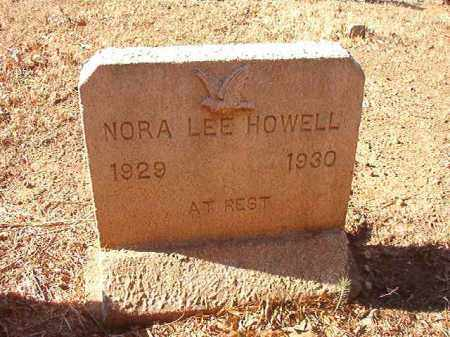 HOWELL, NORA LEE - Columbia County, Arkansas | NORA LEE HOWELL - Arkansas Gravestone Photos
