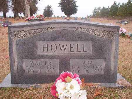 HOWELL, WALTER - Columbia County, Arkansas | WALTER HOWELL - Arkansas Gravestone Photos