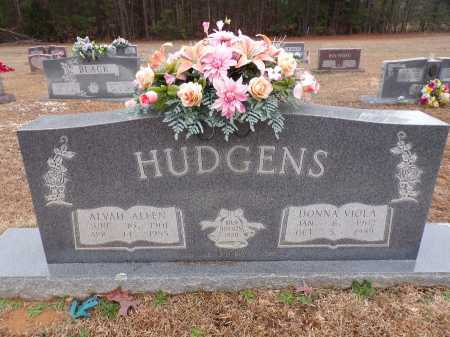 HUDGENS, ALVAH ALLEN - Columbia County, Arkansas | ALVAH ALLEN HUDGENS - Arkansas Gravestone Photos