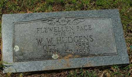 PACE HUDGENS, FLEWELLEN - Columbia County, Arkansas | FLEWELLEN PACE HUDGENS - Arkansas Gravestone Photos