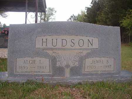 HUDSON, ALGIE L - Columbia County, Arkansas | ALGIE L HUDSON - Arkansas Gravestone Photos