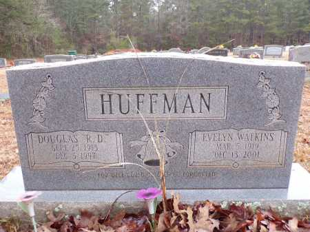 WATKINS HUFFMAN, EVELYN - Columbia County, Arkansas | EVELYN WATKINS HUFFMAN - Arkansas Gravestone Photos