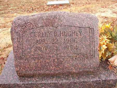 HUGHEY, CURLEY B - Columbia County, Arkansas | CURLEY B HUGHEY - Arkansas Gravestone Photos