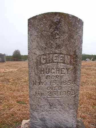 HUGHEY, GREEN - Columbia County, Arkansas | GREEN HUGHEY - Arkansas Gravestone Photos
