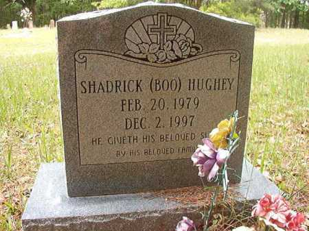 HUGHEY, SHADRICK (BOO) - Columbia County, Arkansas | SHADRICK (BOO) HUGHEY - Arkansas Gravestone Photos