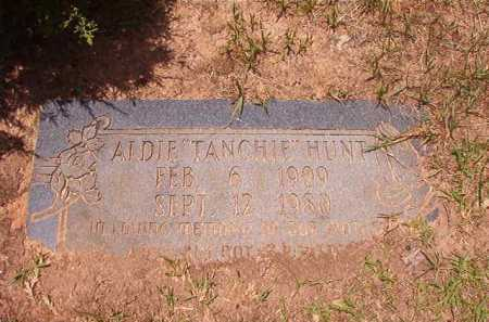 "HUNT, ALDIE ""TANCHIE"" - Columbia County, Arkansas 