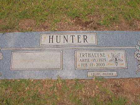 HUNTER, ERTHALYNE - Columbia County, Arkansas | ERTHALYNE HUNTER - Arkansas Gravestone Photos