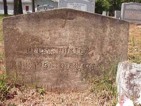 HUNTER, HELEN - Columbia County, Arkansas | HELEN HUNTER - Arkansas Gravestone Photos