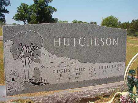 HUTCHESON, CHARLES LESTER - Columbia County, Arkansas | CHARLES LESTER HUTCHESON - Arkansas Gravestone Photos