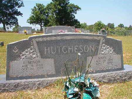HUTCHESON, E MINOR - Columbia County, Arkansas | E MINOR HUTCHESON - Arkansas Gravestone Photos