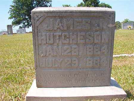 HUTCHESON, JAMES J - Columbia County, Arkansas | JAMES J HUTCHESON - Arkansas Gravestone Photos