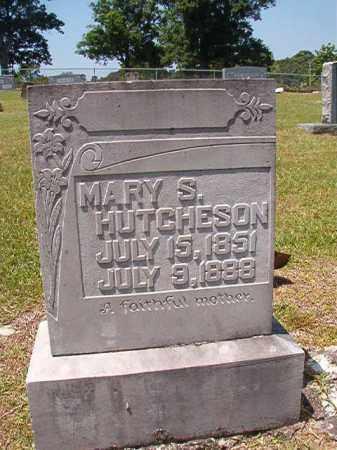 HUTCHESON, MARY S - Columbia County, Arkansas | MARY S HUTCHESON - Arkansas Gravestone Photos