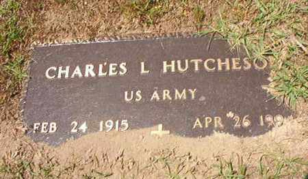 HUTCHESON (VETERAN), CHARLES L - Columbia County, Arkansas | CHARLES L HUTCHESON (VETERAN) - Arkansas Gravestone Photos