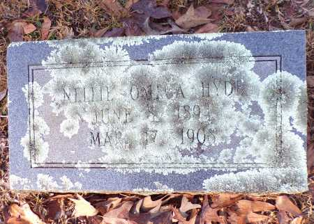 HYDE, NELLIE - Columbia County, Arkansas | NELLIE HYDE - Arkansas Gravestone Photos