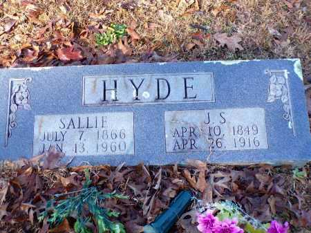 HYDE, SALLIE - Columbia County, Arkansas | SALLIE HYDE - Arkansas Gravestone Photos