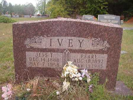 IVEY, JESS T - Columbia County, Arkansas | JESS T IVEY - Arkansas Gravestone Photos