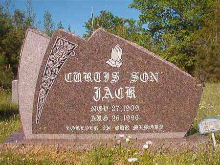 JACK, CURTIS - Columbia County, Arkansas | CURTIS JACK - Arkansas Gravestone Photos