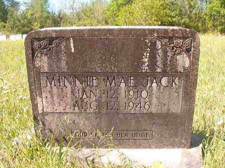 JACK, MINNIE MAE - Columbia County, Arkansas | MINNIE MAE JACK - Arkansas Gravestone Photos