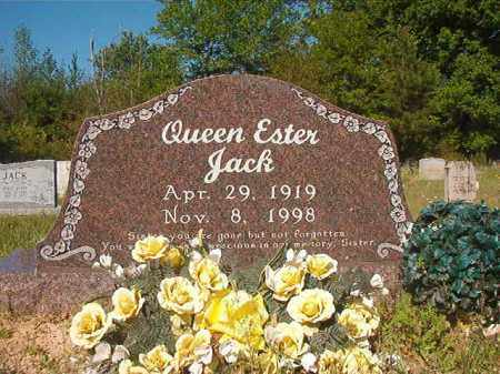 JACK, QUEEN ESTER - Columbia County, Arkansas | QUEEN ESTER JACK - Arkansas Gravestone Photos