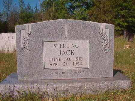 JACK, STERLING - Columbia County, Arkansas | STERLING JACK - Arkansas Gravestone Photos