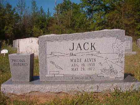 JACK, WADE ALVIN - Columbia County, Arkansas | WADE ALVIN JACK - Arkansas Gravestone Photos