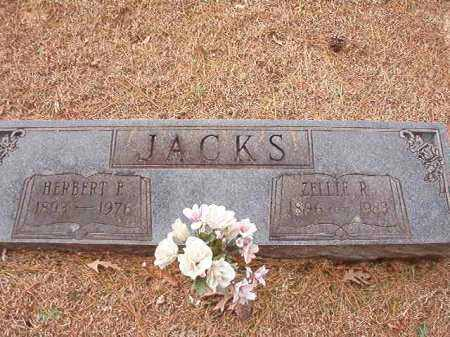 JACKS, ZELLIE R - Columbia County, Arkansas | ZELLIE R JACKS - Arkansas Gravestone Photos