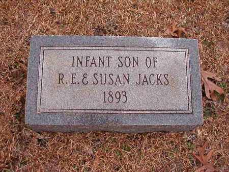 JACKS, INFANT SON - Columbia County, Arkansas | INFANT SON JACKS - Arkansas Gravestone Photos
