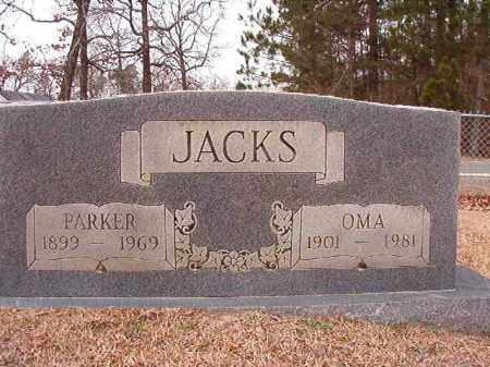 JACKS, PARKER - Columbia County, Arkansas | PARKER JACKS - Arkansas Gravestone Photos