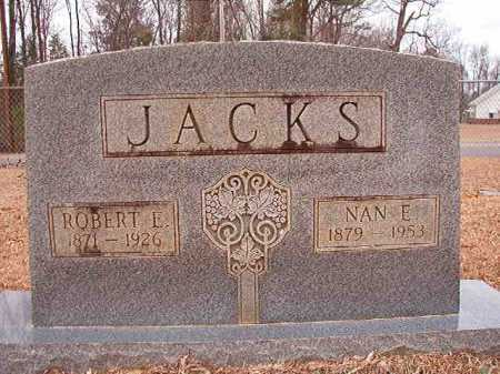 JACKS, NAN E - Columbia County, Arkansas | NAN E JACKS - Arkansas Gravestone Photos