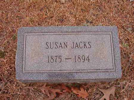 JACKS, SUSAN - Columbia County, Arkansas | SUSAN JACKS - Arkansas Gravestone Photos