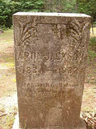 JACKSON, ARON - Columbia County, Arkansas | ARON JACKSON - Arkansas Gravestone Photos
