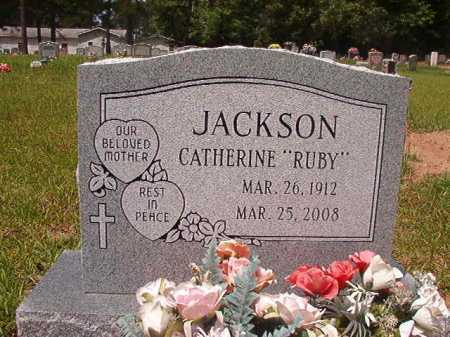 "JACKSON, CATHERINE ""RUBY"" - Columbia County, Arkansas 