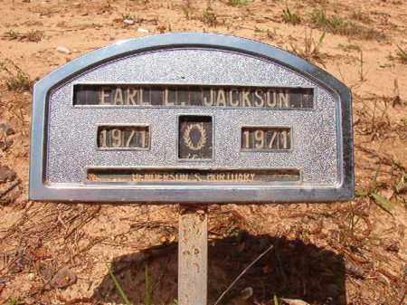 JACKSON, EARL L - Columbia County, Arkansas | EARL L JACKSON - Arkansas Gravestone Photos
