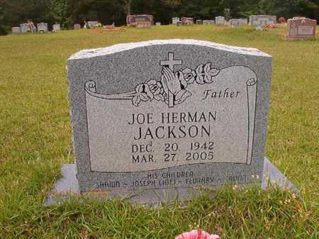 JACKSON, JOE HERMAN - Columbia County, Arkansas | JOE HERMAN JACKSON - Arkansas Gravestone Photos
