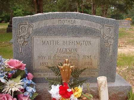 BUFFINGTON JACKSON, MATTIE - Columbia County, Arkansas | MATTIE BUFFINGTON JACKSON - Arkansas Gravestone Photos