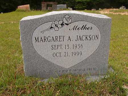 JACKSON, MARGARET A - Columbia County, Arkansas | MARGARET A JACKSON - Arkansas Gravestone Photos