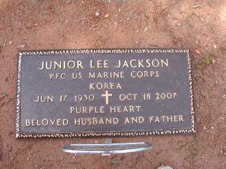 JACKSON (VETERAN KOR), JUNIOR LEE - Columbia County, Arkansas | JUNIOR LEE JACKSON (VETERAN KOR) - Arkansas Gravestone Photos
