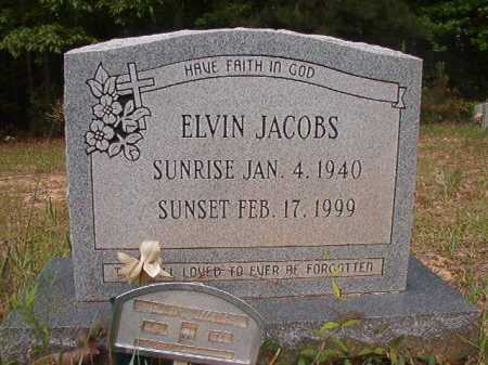 JACOBS, ELVIN - Columbia County, Arkansas | ELVIN JACOBS - Arkansas Gravestone Photos