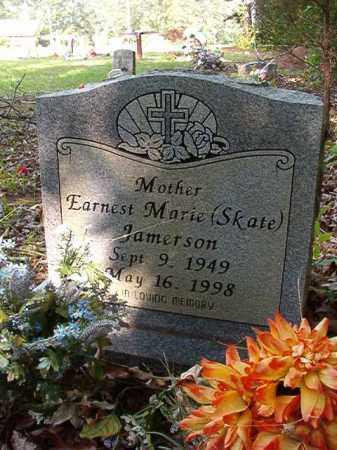 JAMERSON, EARNEST MARIE (SKATE) - Columbia County, Arkansas   EARNEST MARIE (SKATE) JAMERSON - Arkansas Gravestone Photos