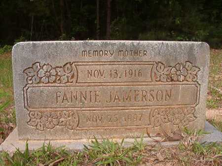 JAMERSON, FANNIE - Columbia County, Arkansas | FANNIE JAMERSON - Arkansas Gravestone Photos