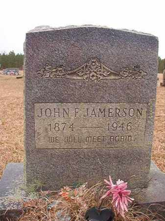 JAMERSON, JOHN F - Columbia County, Arkansas | JOHN F JAMERSON - Arkansas Gravestone Photos