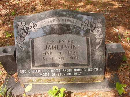 JAMERSON, LEE ESTER - Columbia County, Arkansas | LEE ESTER JAMERSON - Arkansas Gravestone Photos