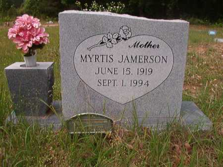 JAMERSON, MYRTIS - Columbia County, Arkansas | MYRTIS JAMERSON - Arkansas Gravestone Photos