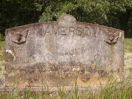 JAMERSON, J W - Columbia County, Arkansas | J W JAMERSON - Arkansas Gravestone Photos