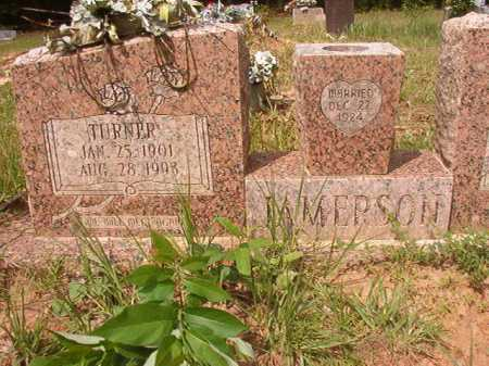 JAMERSON, TURNER - Columbia County, Arkansas | TURNER JAMERSON - Arkansas Gravestone Photos