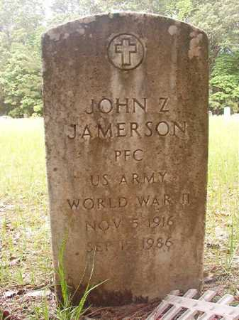 JAMERSON (VETERAN WWII), JOHN Z - Columbia County, Arkansas | JOHN Z JAMERSON (VETERAN WWII) - Arkansas Gravestone Photos